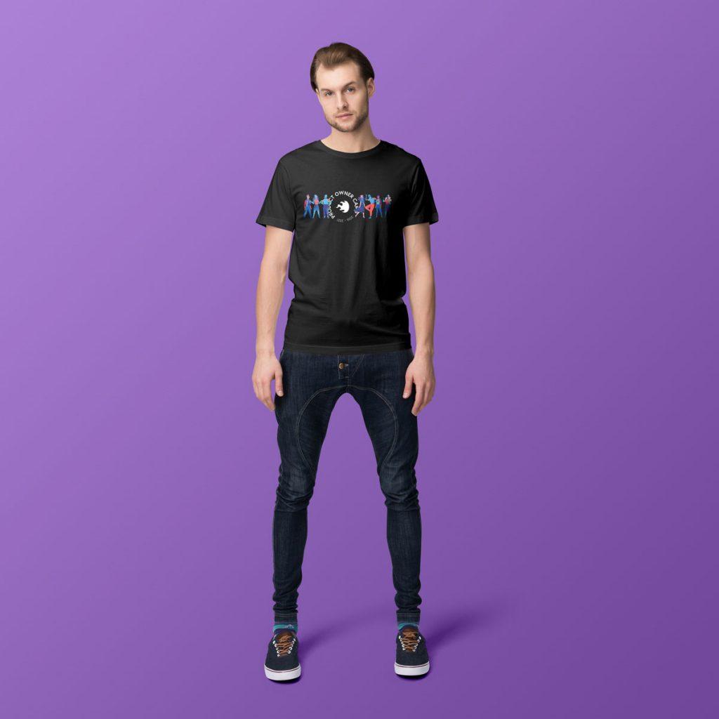 Produktbeispiel für das Product-Owner-Shirt mit Herrenschnitt